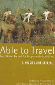 Cover of: Able to Travel