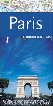 Cover of: Rough Guide to Paris (Rough Guide Maps)