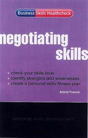Cover of: Negotiating skills