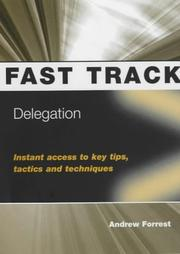 Cover of: Delegation (Fast Track)