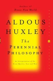 Cover of: The perennial philosophy