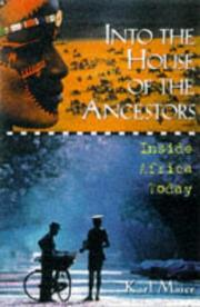 Cover of: Into the House of the Ancestors