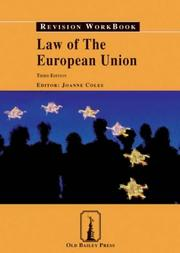 Cover of: Law of the European Union Revision Workbook