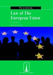 Cover of: Law of the European Union Textbook