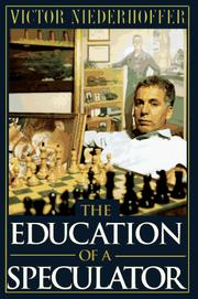Cover of: The education of a speculator