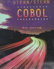 Cover of: Structured COBOL Programming, 8th Edition