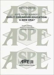 Cover of: Early Childhood Education | Angela Anning