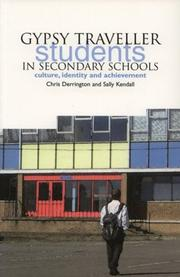 Cover of: Gypsy Traveller Students in Secondary Schools | Chris Derrington