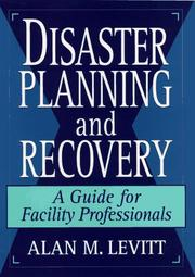 Cover of: Disaster planning and recovery
