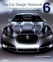 Cover of: The Car Design Yearbook 6 | Stephen Newbury