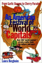 Cover of: An American Festival of World Capitals | Laura Bergheim