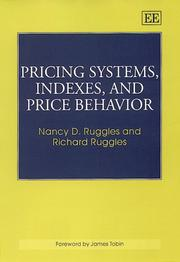 Cover of: Pricing Systems, Indexes, and Price Behavior | Nancy D. Ruggles