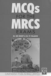 Cover of: McQs for the Mrcs Exam (Principles of Law) | Reddy