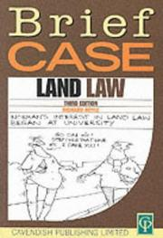 Cover of: Land Law (Briefcase) | Richard Royle