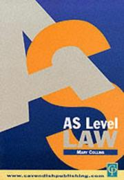 Cover of: AS Level Law