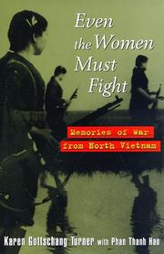 Cover of: Even the women must fight