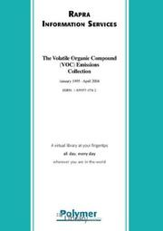 Cover of: The Volatile Organic Compound Voc Emissions Collection