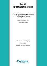 Cover of: The Polyurethane Elastomer Testing Collection