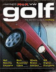 "Cover of: VW Golf (Haynes ""MaxPower"")"