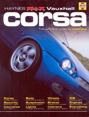 "Cover of: Vauxhall Corsa (Haynes ""MaxPower"")"