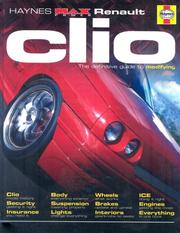 "Cover of: Renault Clio (Haynes ""Max Power"" Modifying Manuals)"