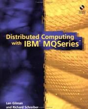 Cover of: Distributed computing with IBM MQseries
