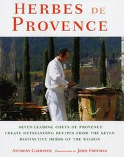 Cover of: Herbes De Provence | Anthony Gardiner