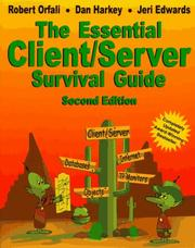 Cover of: Essential Client/Server Survival Guide