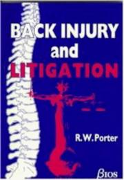 Cover of: Back Injury and Litigation | R. Evans
