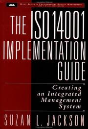 Cover of: The ISO 14001 implementation guide