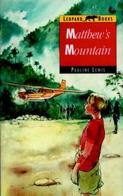 Cover of: Matthew's Mountain (Leopard Books)