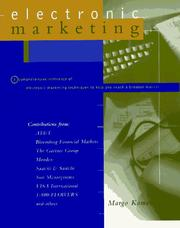 Cover of: Electronic marketing