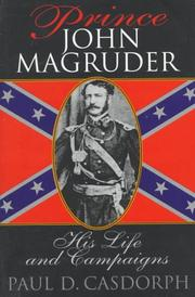 Cover of: Prince John Magruder