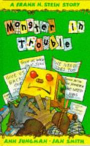 Cover of: Frank N Stein and the Monster in Trouble (Frank N Stein Stories)