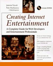 Cover of: Creating Internet entertainment | Jeannie Novak