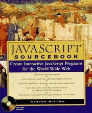 Cover of: JavaScript sourcebook
