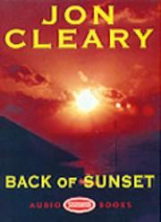 Cover of: Back of Sunset