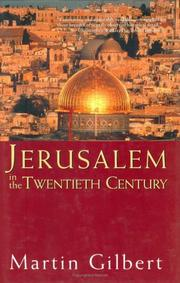Cover of: Jerusalem in the twentieth century