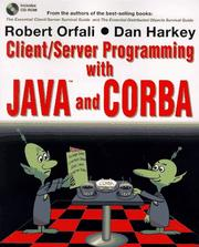 Cover of: Client/server programming with Java and CORBA