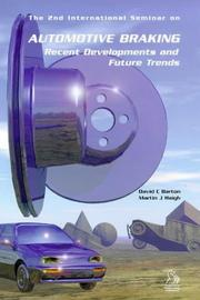Cover of: Automotive Braking