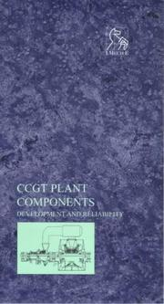 Cover of: CCGT Plant Components