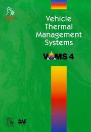 Cover of: Vehicle Thermal Management Systems (VTMS 4) +CD (Imeche Event Publications)