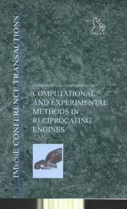 Cover of: Computational and Experimental Methods in Reciprocating