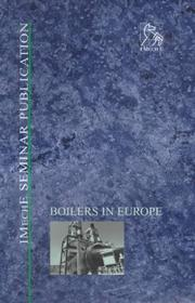 Cover of: Boilers in Europe