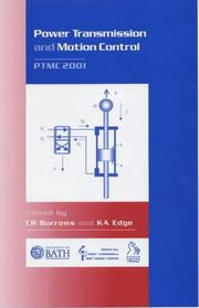 Cover of: Power Transmission and Motion Control |