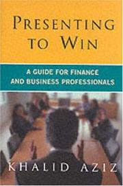 Cover of: Presenting to Win