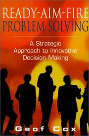 Cover of: Ready-Aim-Fire Problem Solving