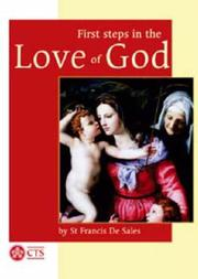 Cover of: First Steps in the Love of God