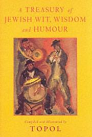 Cover of: A Treasury of Jewish Wit, Wisdom and Humour