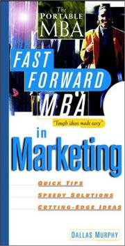 Cover of: The fast forward MBA in marketing | Dallas Murphy